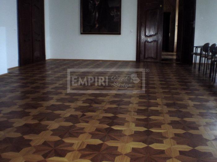Mozaikové parkety Dub/thermo dub imperial
