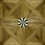 Vzor 03W Dub Kouřový vídeňský kříž s hvězdou