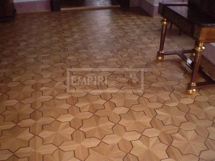 Mozaikové parkety Dub Imperial listela, classic