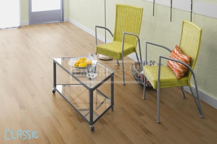 Dvouvrstvá dřevěná podlaha Parketa Dub Classic (natur)