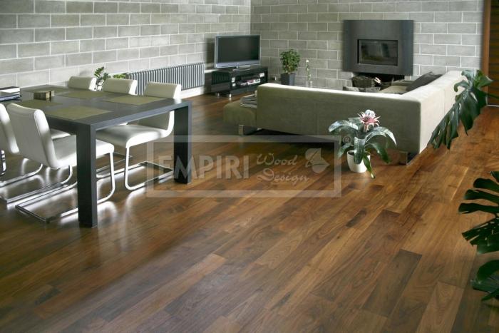 Dvouvrstvá dřevěná podlaha Americký ořech