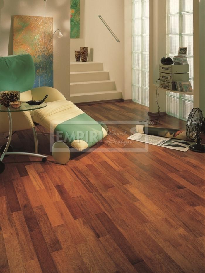 Dvouvrstvá dřevěná podlaha Merbau