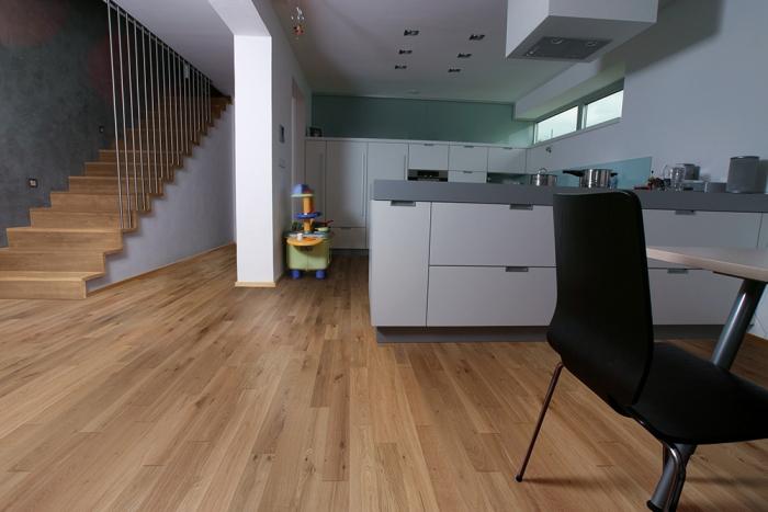 Dvouvrstvá dřevěná podlaha Dub Cool Rustikal RAW 120