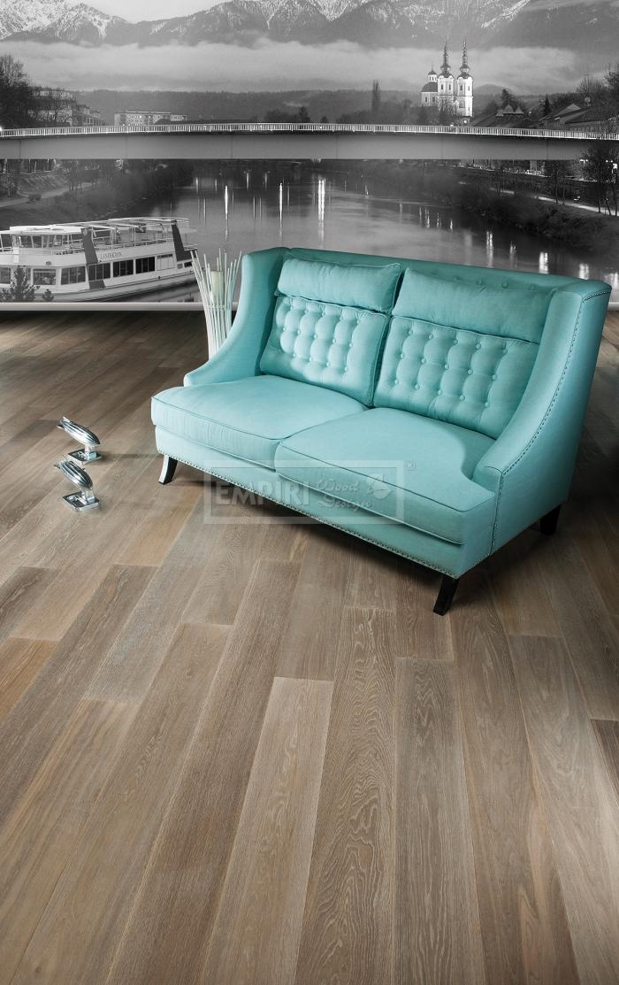 Dvouvrstvá dřevěná podlaha Dub Villach