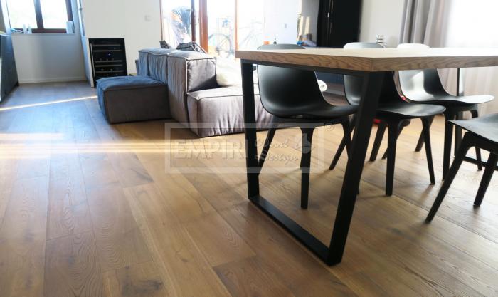 Třívrstvá dřevěná podlaha Dub Grey