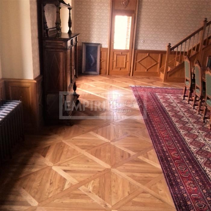 Mozaikové parkety Dub vídeňský kříž