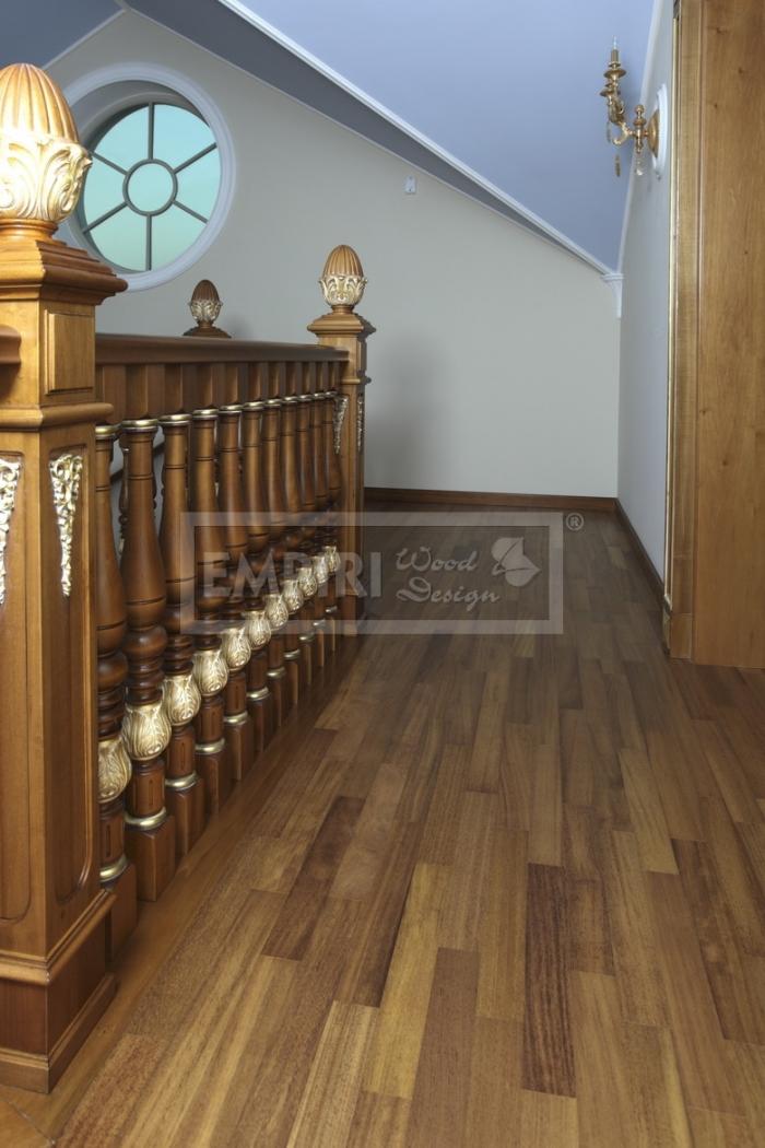 Dvouvrstvá dřevěná podlaha Iroko parketa