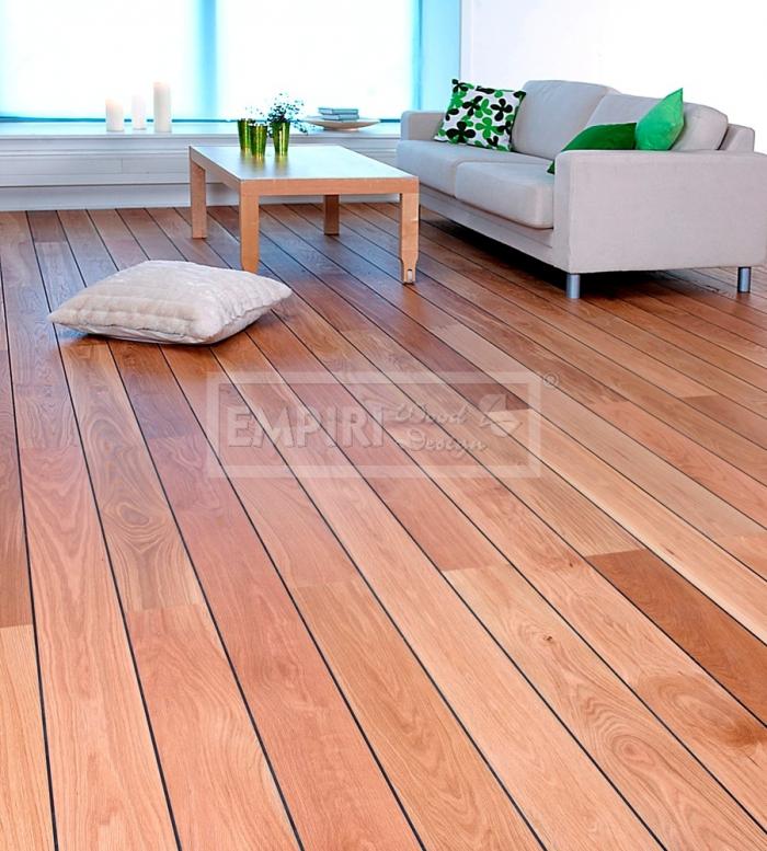 Třívrstvá dřevěná podlaha Dub paluba