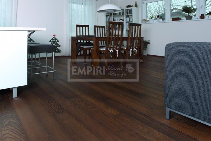 Třívrstvá dřevěná podlaha Jasan thermo