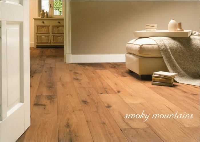 Třívrstvá dřevěná podlaha Dub Smoky Moutains Solidfloor Vintage