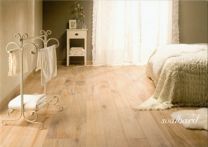 Třívrstvá dřevěná podlaha Dub Svalbard Solidfloor Vintage