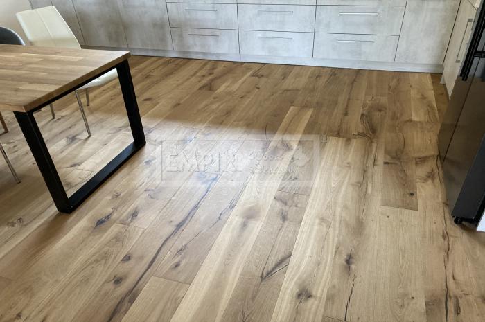 Třívrstvá dřevěná podlaha Dub francouzský