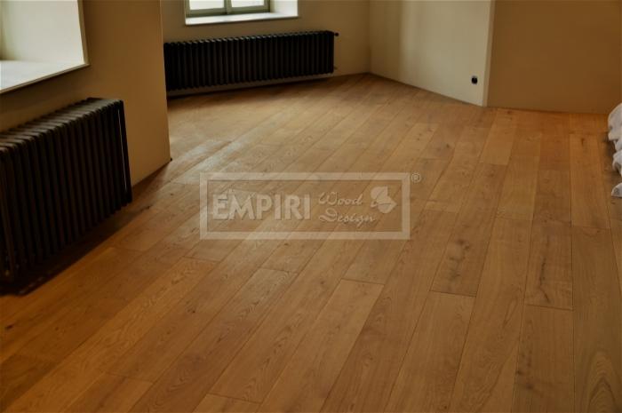 Masivní podlaha Dub rustikal/Markant, fáze, přírodní olej