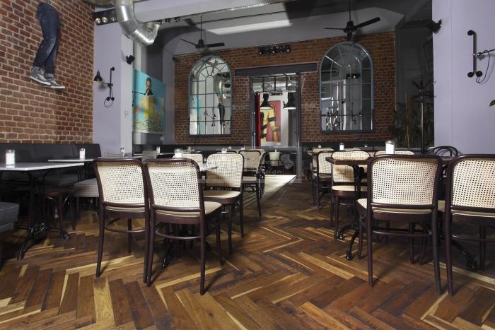 Podlahy Dub EMPIRI CAFE CAFE