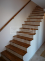 Masivní schody TEAK stupně