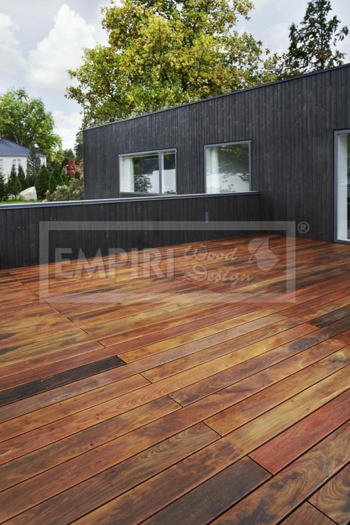 Dřevěná terasová prkna Ipe 20x140 - hladký