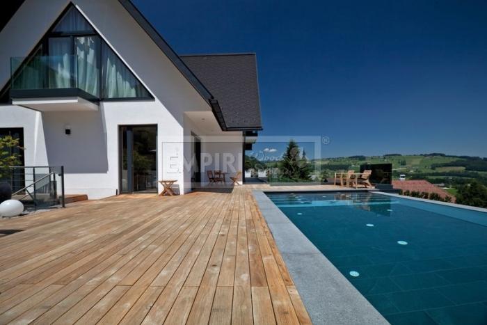 Dřevěná terasová prkna Modřín sibiřský